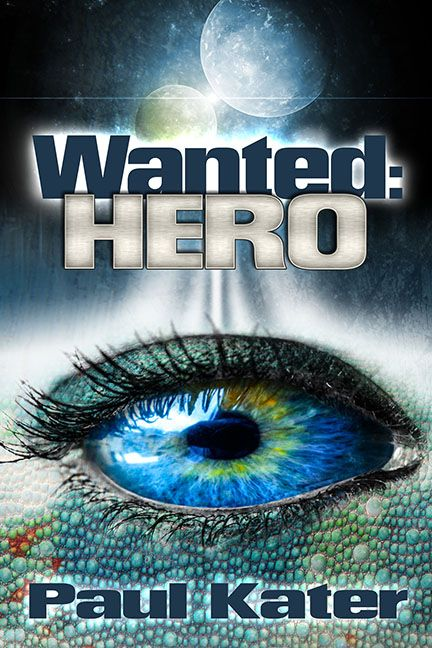 http://www.paulkater.com/wanted-hero/  When Sebastian Fowler sees a strange light in his cellar he has no idea what's in store for him. A weird journey to another planet and an unknown race whose planet is occupied by an even stranger race is only the beginning of an incredible adventure. Sebastian's wildest dreams are no match for what's waiting for him.