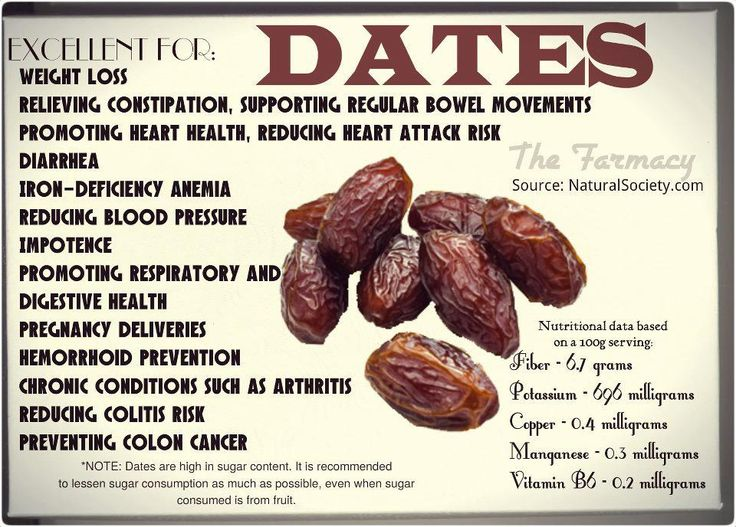 Natural Candy: The Health Benefits of Dates Two dates are all you need for a whole blender of green smoothies!