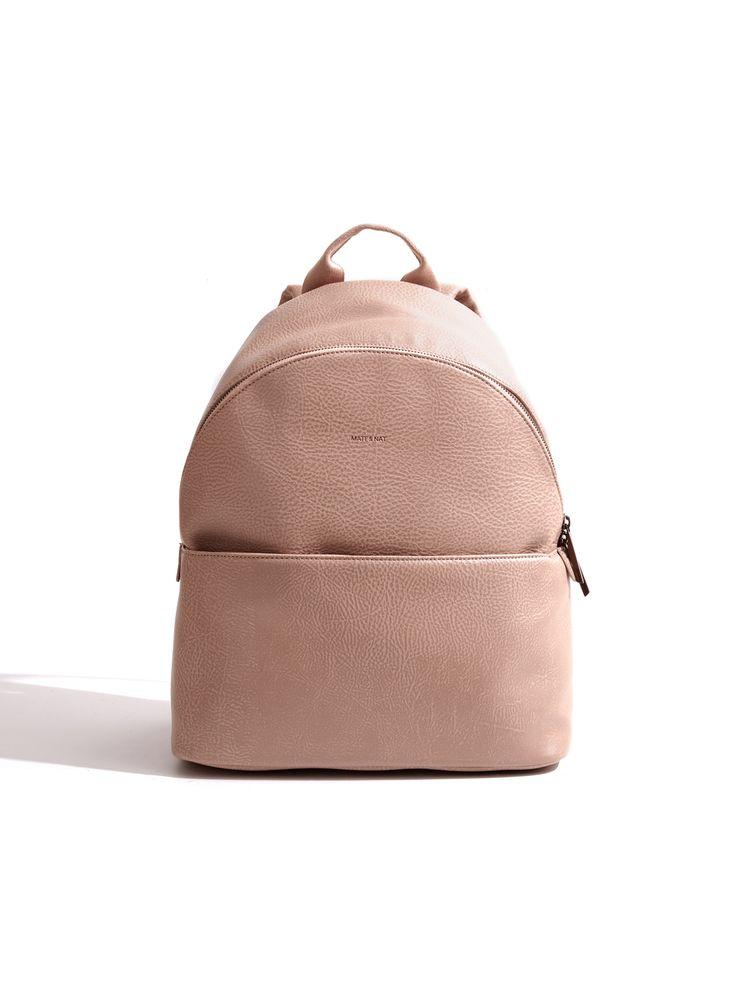 Minimal Backpack - chic leather bag // Matt & Nat