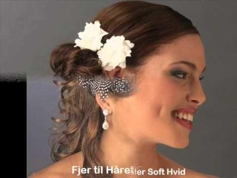 Smukke Hårpynt til Bruden - Dekoration til Bryllup og Fest – Prinsessens Bryllup