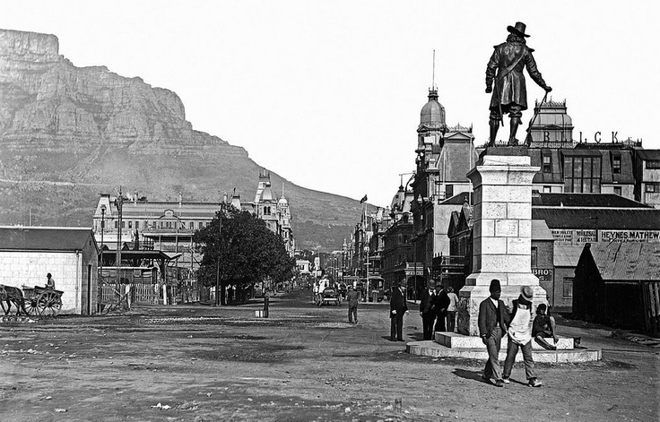 Adderley Street, Cape Town ca. 1898