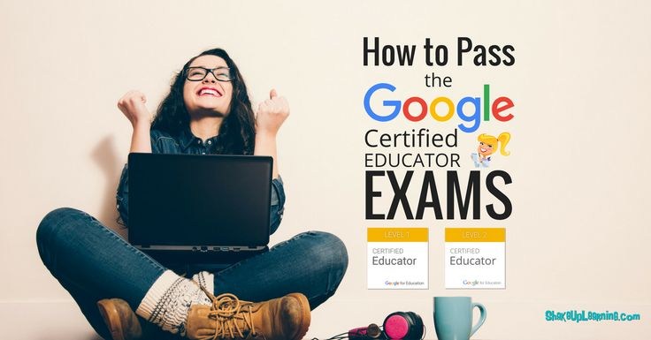 Pinterest12 Tips to Pass the Google Certified Educator Exams Becoming a Google Certified Educator can be intimidating and confusing. The program has grown, evolved, and changed over the last couple years. So to be sure you have the most accurate information, and that you know what to expect, I have put together these twelve tips …