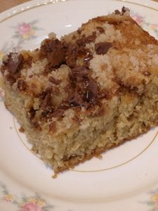 Heath Bar Coffee Cake. Mom made this all the time when I was growing up. It's delicious!