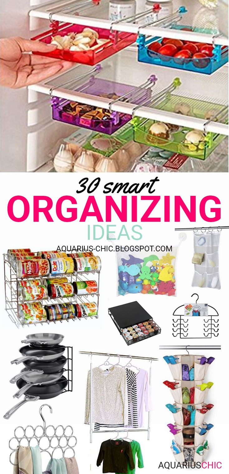 AQUARIUS-CHIC: 30 Smart Organizing Ideas