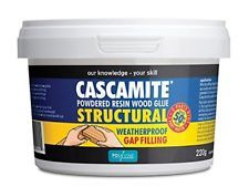 Cascamite Powdered Resin Wood Glue 220g Home Garden Waterproof Adhesive Tub #tools #furniture #wood #glue #home #garden #outdoors #work