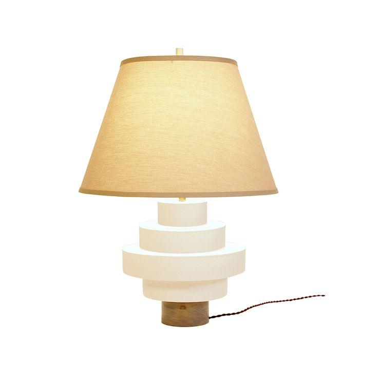 Buy laguna white porcelain disk lamp from dana john on dering hall