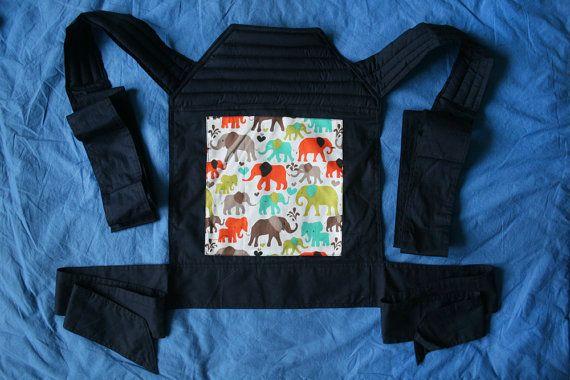 Beautiful Organic Mei Tai Baby Carrier by Craneworld on Etsy, $65.00