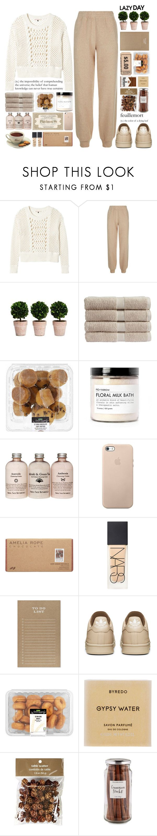 """""""And if she feels my traces in your hair I'm sorry lord but I don't really care"""" by one-styles ❤ liked on Polyvore featuring Rebecca Taylor, See by Chloé, Christy, Fig+Yarrow, Amelia Rose, NARS Cosmetics, Sugar Paper, Byredo, Pier 1 Imports and Williams-Sonoma"""