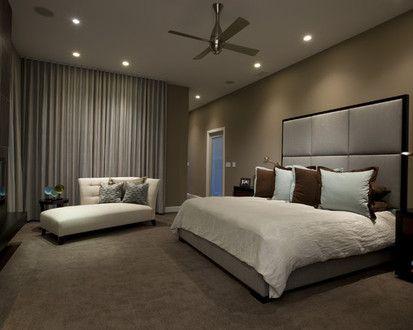 Honore Contemporary Master Bedroom A, Contemporary Bedroom, Chicago