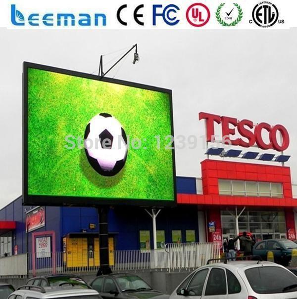 Barato Leeman P10 ao ar livre conduziu o painel p10 Publicidade Comercial Full Color LED Display Digital Signage, Compro Qualidade Displays de LED diretamente de fornecedores da China: Alumínio ou Ferro instalação fixa Ao Ar Livre LEVOU Exibição de Publicidade Outdoor series: especificação de Vídeo