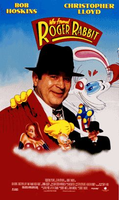 From the 80's: Who Framed Roger Rabbit. Still one of my favorites! Mainly because the lovely Jessica rabbit and I share the same name!!