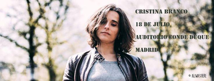 El auditorio Conde Duque recibe a una de las mejores voces de la música portuguesa. Mucho más que fado, no os perdáis a Cristina Branco en Madrid.