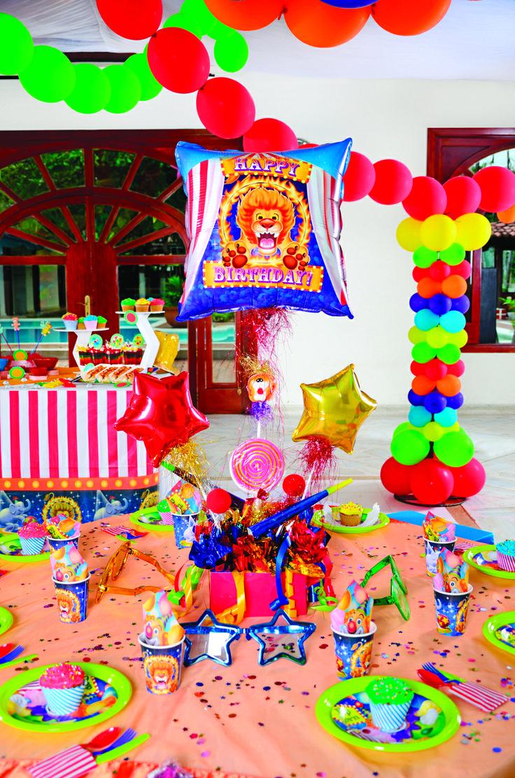 Centro de Mesa Circo