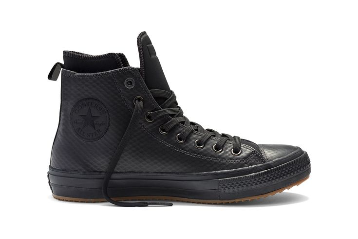 """In gearing up for the winter season, Converse has launched the Chuck Taylor All Star II Boot as part of their """"Counter Climate"""" collection. Featuring a premium, mesh-backed waterproof leather composition, the Chuck Taylor All Star II Boot is Converse's first waterproof sneakerboot created with winter-resistance in mind while still maintaining that classic Chuck Taylor …"""