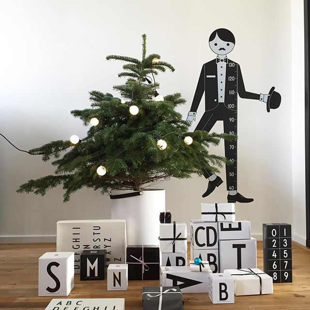 Merry Christmas! A small Christmas tree fits perfect in Stool & Storage. Add personal gifts under the tree.