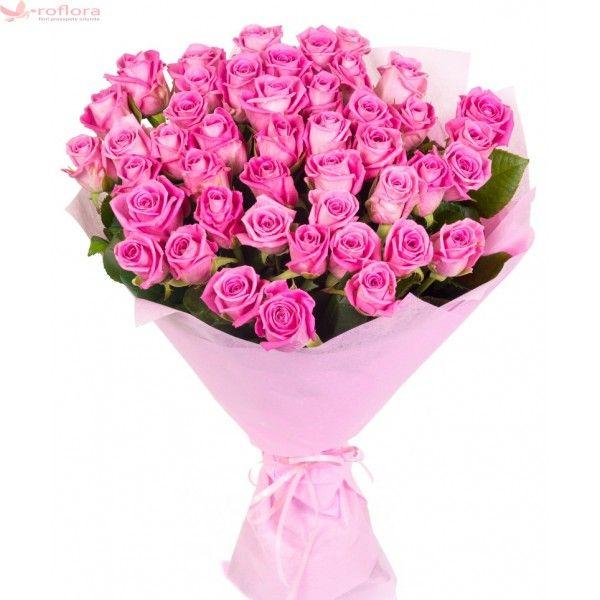So spectacular - Buchet de 55 trandafiri roz