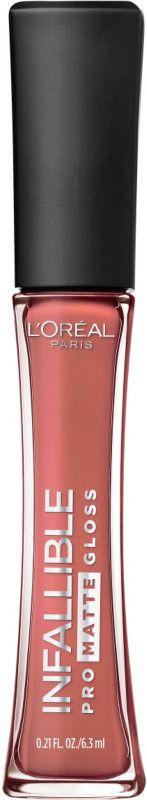 ⭐️♥️ $10.99 Infallible Pro-Matte Gloss  Color: Bare Attraction Ulta Beauty ♥️ blankitinerary (= fav 💄 ever) 2-04-18