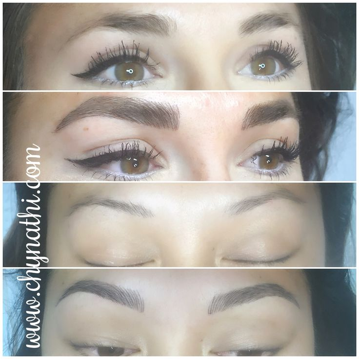 Microblading 3d Hair Strokes: 1000+ Images About Microblading 3D Feather Stroke Eyebrows