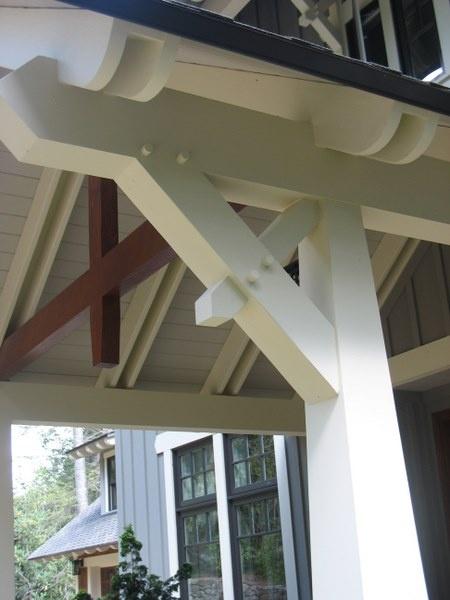Heavy Timber details. Jones Pierce Architects.