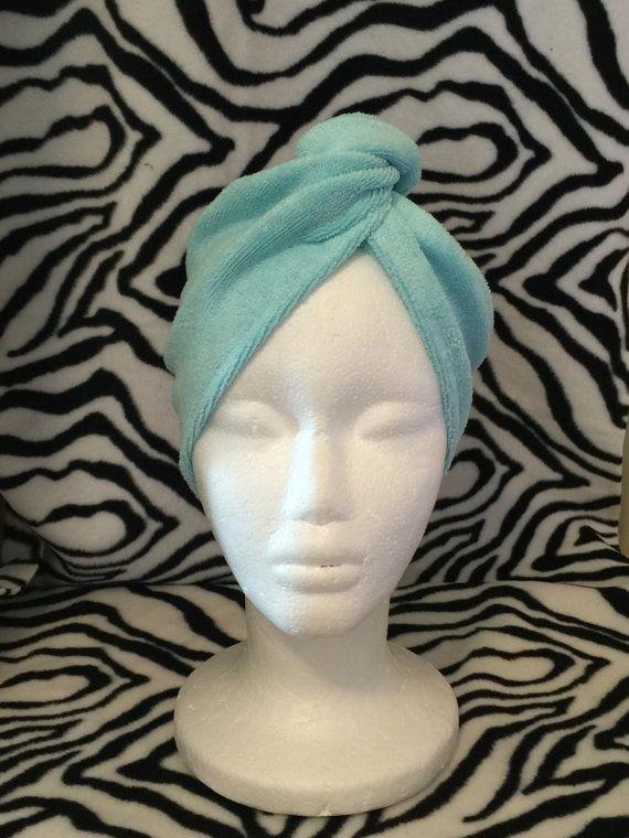 Toalla turbante del pelo personalizado de la por CACBaskets