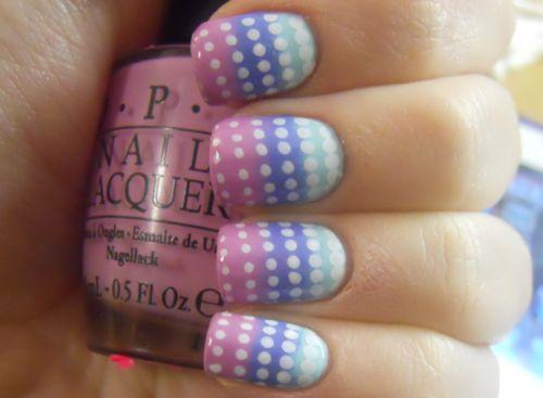 (via Holy Manicures: Polka Dot Gradient Nails.): Polka Dots, Nails Art, Nails Design, Nails Hairs Makeup Beauty, Art Design, Gradient Nails, Dots Nails, The Dots, Dots Gradient