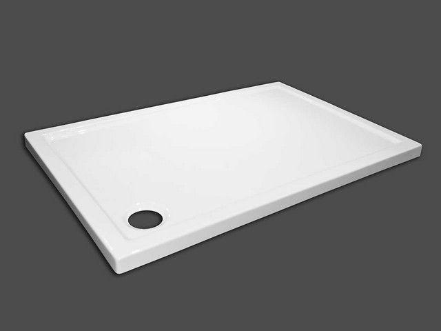 Piatto doccia flat 70x100 altezza 5 bianco Piatti