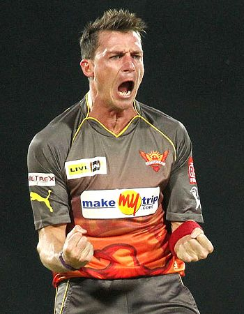 Dale Steyn is happy with his performance!