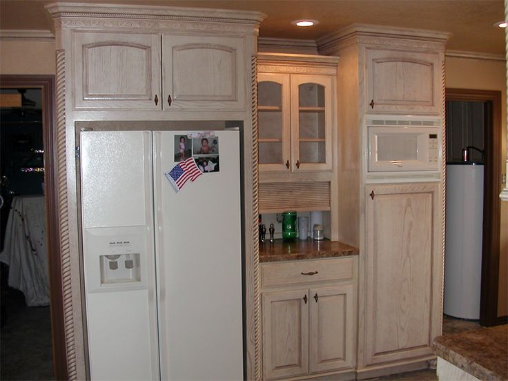 Pickled Oak Cabinets Refinish 28 Images Builder Grade Refinished Converted From