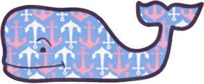 Vineyard Vines Anchor Whale
