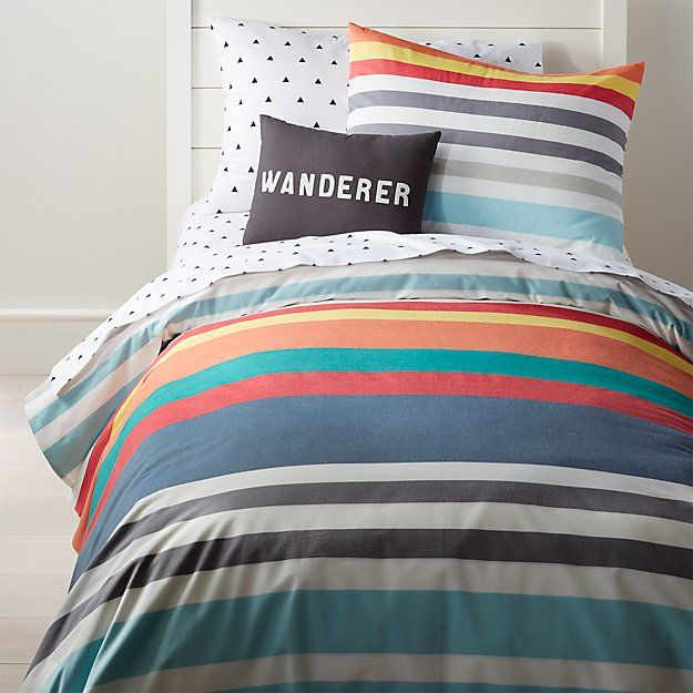 Full Queen Multi Color Striped Duvet Striped Duvet Covers Striped Duvet Striped Bedding