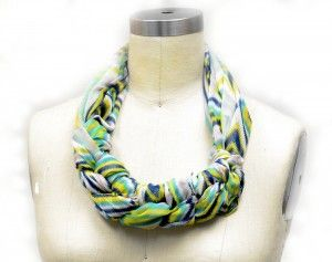 How to Tie a Scarf | Braided Scarf Necklace | Scarves.net