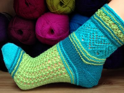 Socke *DonnaRocco* von Birgit Freyer - knitting pattern