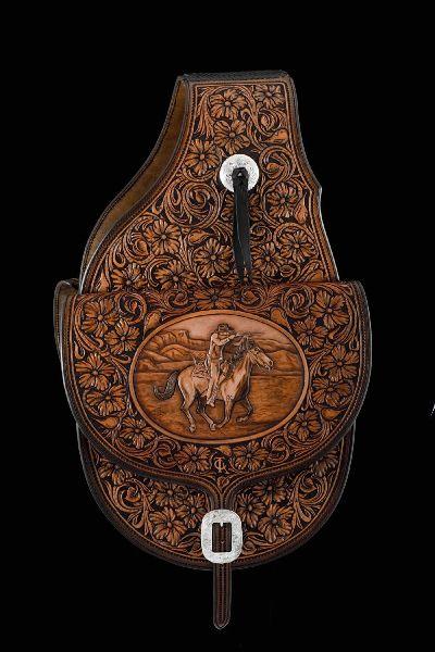 Very nice custom saddlebags.