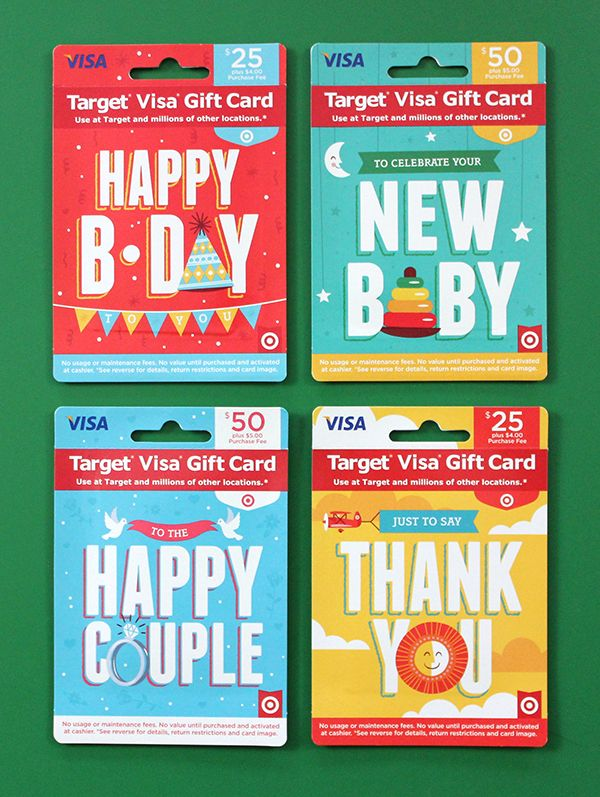 Brave the Woods' Target Gift Cards Design
