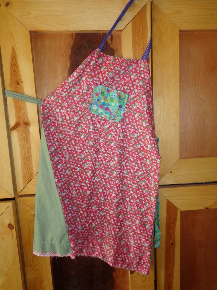 youtube how to make a simple apron
