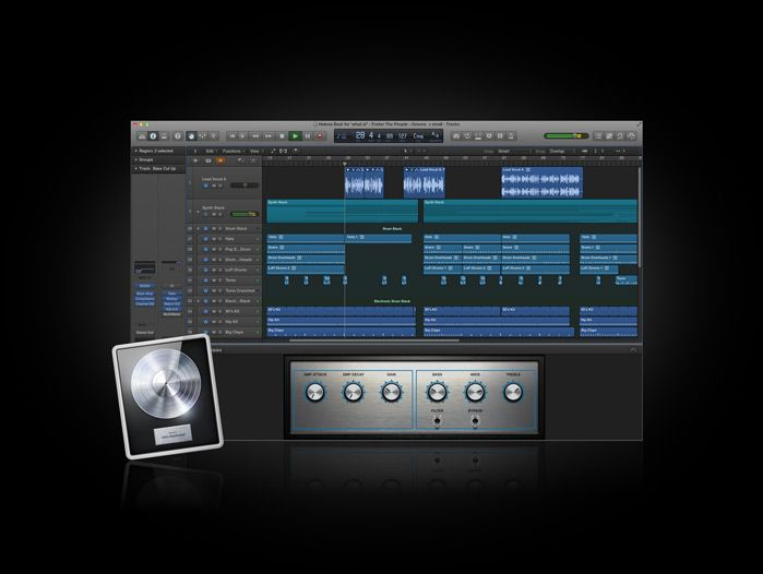 Apple - Logic Pro X - Music production. Cranked up to X.