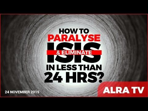 How to Paralyse & Eliminate ISIS in Less Than 24 Hours - Younus AlGohar - YouTube