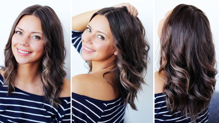 how to make thick curls with a straightener
