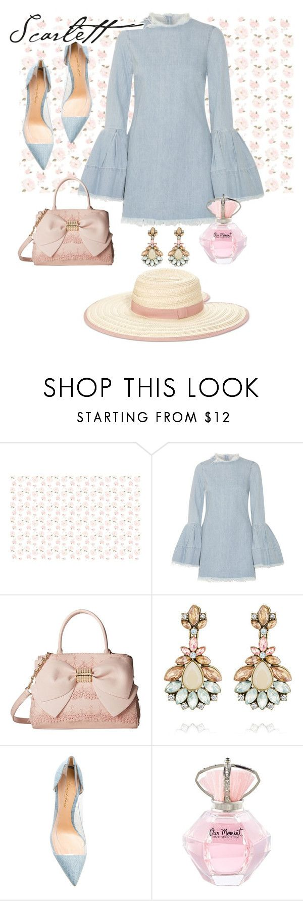 """""""Untitled #152"""" by etotnikzanyat ❤ liked on Polyvore featuring Marques'Almeida, Betsey Johnson, Chloe + Isabel, Gianvito Rossi and INC International Concepts"""