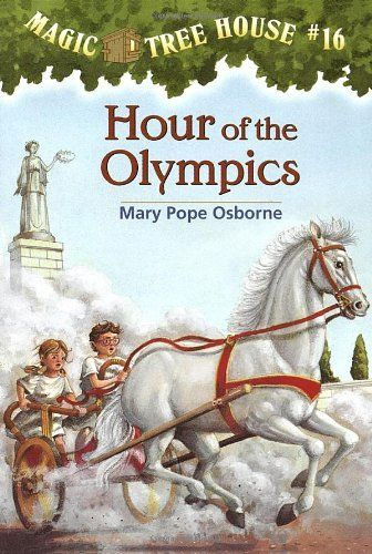 Hour of the Olympics (Magic Tree House #16)  and Ancient Greece and the Olympics (the nonfiction companion)
