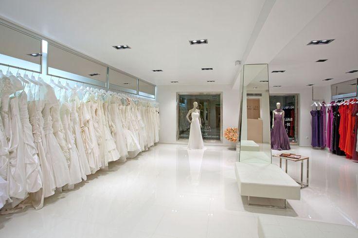 Boutique design, wedding dresses, evening gowns