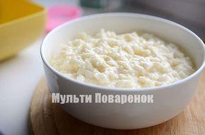 Рисовая каша в мультиварке Панасоник