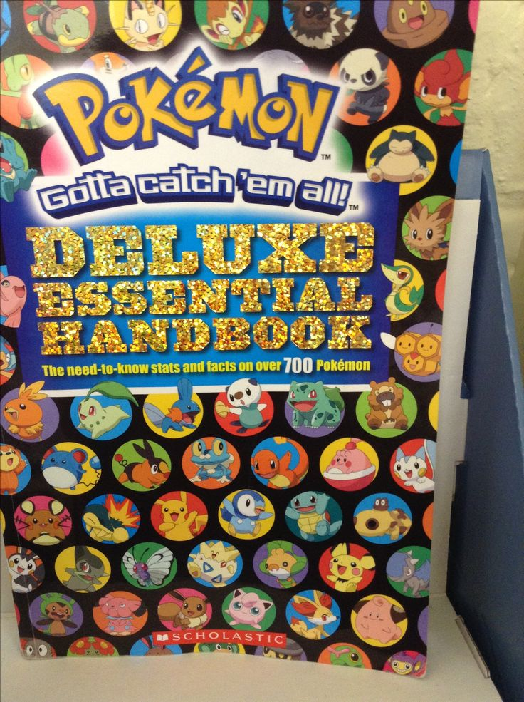 Pokemon Deluxe Edition Handbook
