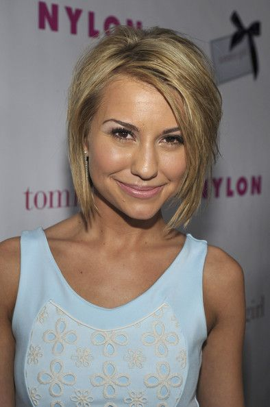 Chelsea Kane Layered Razor Cut - Short Hairstyles Lookbook - StyleBistro