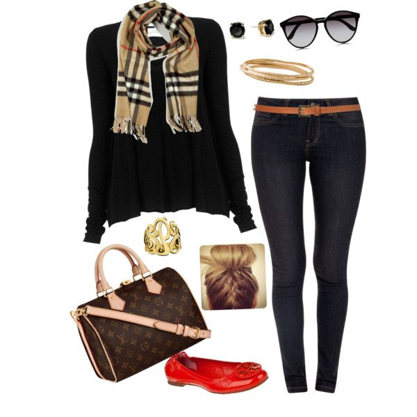 Burberry scarf , created by abbywidger on Polyvore