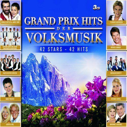 Grand Prix Hits der Volksmusik [CD]