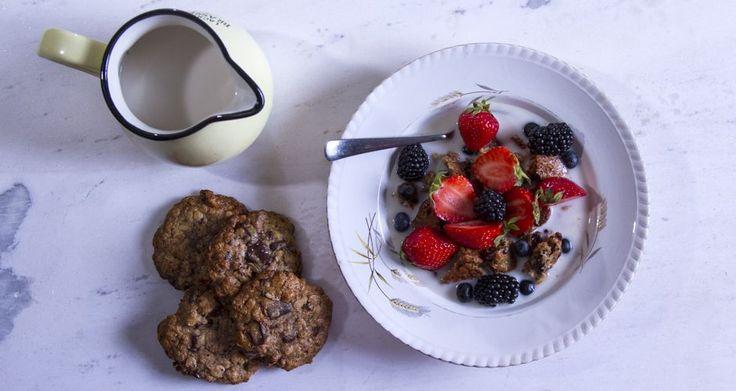 Νηστίσιμα πρωτεΐνικά μπισκότα από τον Άκη. Τα πιο υγιεινά μπισκότα με βρώμη, χωρίς καθόλου βούτυρο, χωρίς ζάχαρη και με μόνο 3 υλικά! Απολαύστε τα με τον καφέ σας ή το τσάι σας!