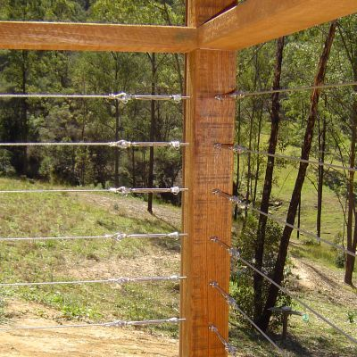 stainless steel wire balustrades decking - Google Search