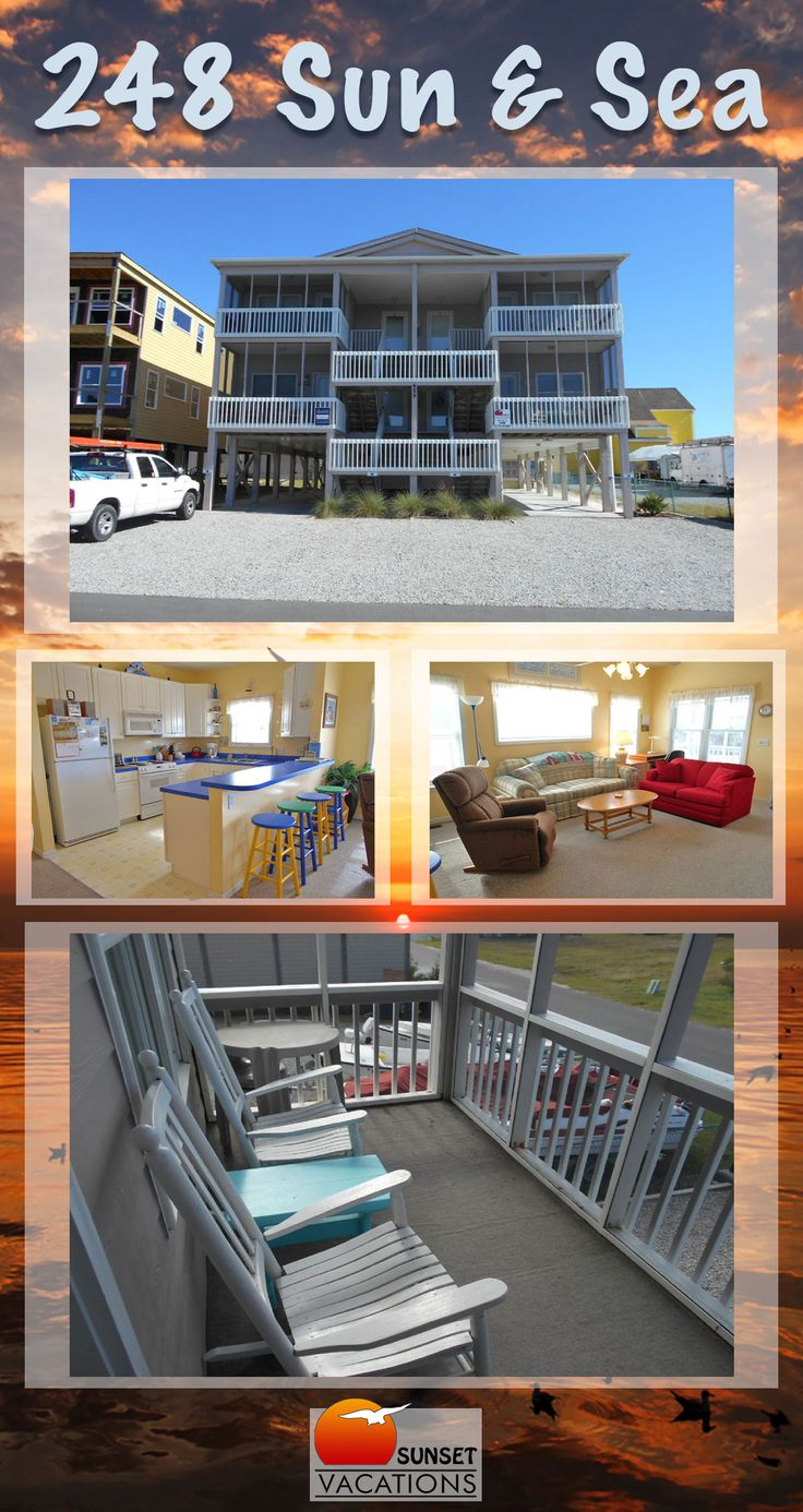 This 2 bedroom Sunset Beach, NC condo is a great budget-friendly vacation rental option! With room for 4 guests, it is just the right size for a small family. Book today!