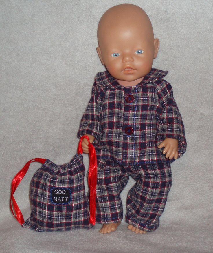 Baby born redesign pyjama
